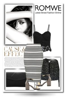 """""""Romwe 2/II"""" by nermina-okanovic ❤ liked on Polyvore featuring Chanel, Envi, Topshop and romwe"""