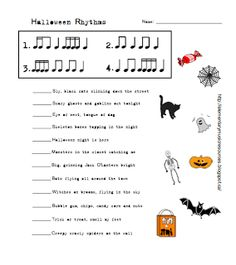 Music Worksheets   Elementary Music Resources