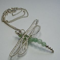 The Dragonfly Collection | JewelryLessons.com I want to learn this one.  So pretty.