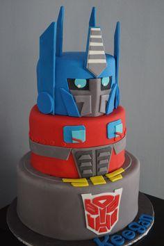 Transformer cake | Cakes | Pinterest