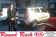 This experience has been a hassle free! I have sold cars for a few companies and even I couldn't give the same experience as Kelly and Jenifer have given me. Very professional. Finance was very simple and explained very well. Very happy with my unexpected 2015 Kia Soul purchase. - James, Wednesday, December 24, 2014 http://www.roundrockkia.com/?utm_source=Flickr&utm_medium=DMaxxPhoto&utm_campaign=DeliveryMaxx