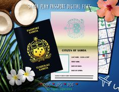 Play Passport Samoa DOC PDF JPG Font Editable Template Invitation Instant Download Printable Digital File by clipartsuperstore on Etsy You Broke My Heart, Party Items, Pretend Play, First Names, Passport, Rsvp, Find Image, Fonts, Invitation