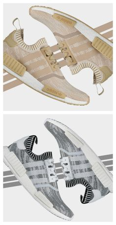 dcac46a9bc1765 Primeknit perfection — two fresh adidas Originals NMD R1 Primeknits are out  now. Adidas Nmd