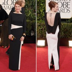Julieanne Moore Golden Globe dress 2013 - Google Search.  I don't like the back.