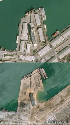 Satellite images right before and soon after the explosion that shook Beirut on August 4th, 2020. – contemporary #epic fails hilarious , #fails nailed , #funny messages fails , #message fails , #pin fails    #FailsGifsFunny, #FunnyFailsNailedIt, #InternetFail, #PhotoFails, #WhatIfIFail