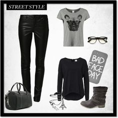 """""""street style"""" by axouxere-moda-complementos on Polyvore"""