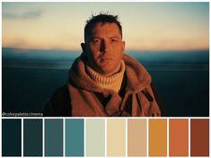 Favorite tweet by @_tuck4 Movie Color Palette, Colour Pallette, Colour Schemes, Color Combos, Color In Film, Cinema Colours, Color Script, Cinematic Photography, Christopher Nolan