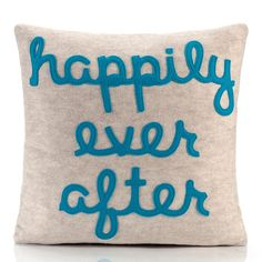 Ever After 16x16 Oatmeal pillow