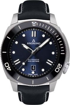 Anonimo Watch Nautilo Mens #add-content #bezel-unidirectional #bracelet-strap-leather #brand-anonimo #case-depth-12-5mm #case-material-steel #case-width-45-5mm #date-yes #delivery-timescale-call-us #dial-colour-blue #discount-code-allow #gender-mens #luxury #movement-automatic #new-product-yes #official-stockist-for-anonimo-watches #packaging-anonimo-watch-packaging #style-dress #subcat-nautilo #supplier-model-no-am-1002-09-006-a03 #warranty-anonimo-official-2-year-guarantee