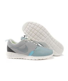 290a576a4f77 Nike Roshe Run NM BR Gray Sail White Ice Blue Noctilucent Shoes Nike Roshe  Run NM