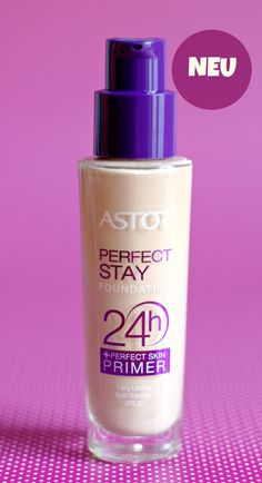 Astor Perfect Stay 24H Foundation + Perfect Skin Primer long-lasting :)