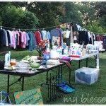 10 Yard Sale Tips {To Have An Amazing Yard Sale!}