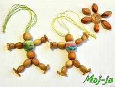 Wooden toy*doll waldorf*montessori waldorf doll*organic and eco-friendly* Baby toy* juniper beads 10.00$