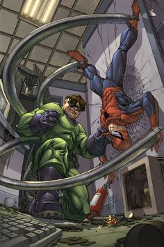 Doctor Octopus vs Spider-Man