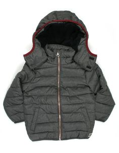 Someone - Meleegrijze winterjas voor jongens