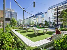 University of Technology- Sydney,Australia- Durbach Block Jaggers Architects + BVN Architecture + ASPECT Studios