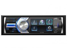 """DVD Automotivo JVC KD-AV300 Tela 3"""" - com Entrada USB e Auxiliar Frontal Rádio AM/FM"""