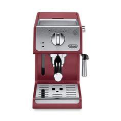The DeLonghi Manual Espresso and Cappuccino Maker brews rich, smooth espresso with customized crema. For ease of use, the espresso. Cappuccino Maker, Espresso Maker, Espresso Cups, Espresso Coffee, Best Coffee, Double Espresso, Best Espresso, Latte Macchiato, Starbucks