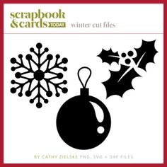 Scrapbook & Cards Today - an internationally read papercrafting magazine filed as Winter Cut Files SCT