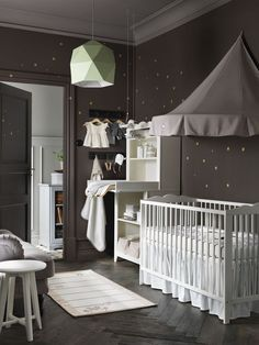 You Can Now Create A Baby Registry At IKEA. I never would have thought of ikea for baby registries. Baby Bedroom, Baby Room Decor, Nursery Room, Boy Room, Nursery Ideas, Girl Nursery, Bedroom Ideas, Kids Room, Yellow Nursery