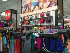 Dick's Sporting Goods has redesigned their women's department and I love the huge selection of clothes!  The lighting is better and the aisles are bigger and who doesn't love shopping for new workout clothes!!? :)  #DSGFit4U