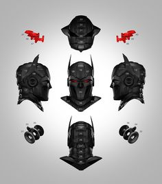 Zortrax recently released STL files for a superhero mask complete with display…