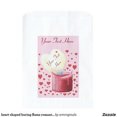 Shop red heart shaped flame romantic wedding favor bag created by artoriginals. Romantic Wedding Favours, Wedding Favor Bags, Party Favor Bags, Romantic Weddings, Wedding Ideas, Wedding Etiquette, Red Candles, Bridal Shower Favors, Heart Shapes