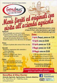 Unione Cuochi Valle d'Aosta - Blog ufficiale: Iniziative e corsi - Azienda agricola, agriturismo...