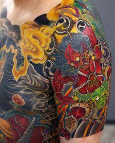 Kenji Shigehara tattoo, YK-Tattoo Saitama Japan