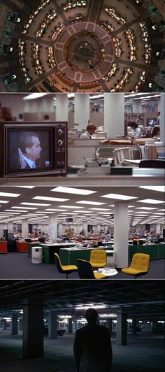 All the President's Men (1976) - Cinematography by Gordon Willis | Directed by Alan J. Pakula