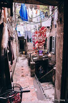 Laundry day in Hanoi