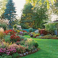 "BetterHomes&Gardens: ""Master the Art of Using Color in the Garden..."""