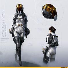 Sci-Fi art,Sci-Fi,art,арт,красивые картинки,art барышня,скафандр