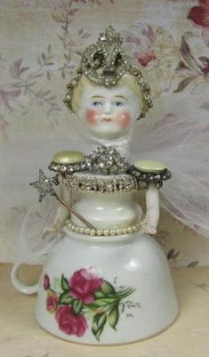 Angel Princess Assemblage Art Doll by maribel