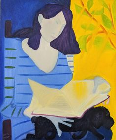 """The Readers   oil/canvas, 32x28"""""""