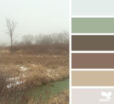 foggy hues... like this Web site to pick colour combos.