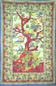 hippie tree tapestries photo