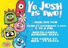 41 Best Yo Gabba Gabba Party Images Yo Gabba Gabba