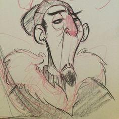 #Sherpa #doodle from last weekend. Busy week again. #sketch #characterdesign