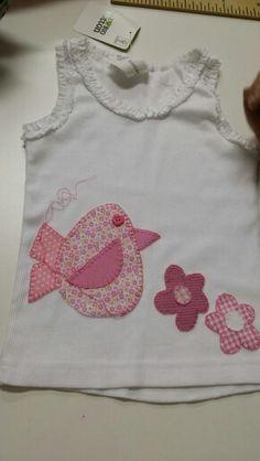 Camiseta para bebe