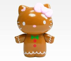 Hello Kitty Collectable Figurine: i could make this Sanrio Hello Kitty, Hello Kitty Natal, Peluche Hello Kitty, Hello Kitty House, Hello Kitty Items, Hello Kitty Christmas, Cat Character, Hello Kitty Collection, Hello Kitty Wallpaper