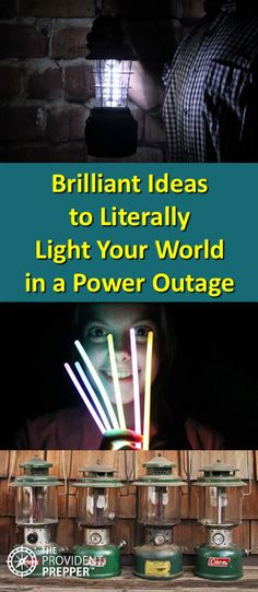 Brilliant Ideas to Literally Light Your World in a Power Outage Emergency Preparation, Survival Prepping, Emergency Preparedness, Solar Powered Lights, Solar Lights, Solar Generator, What To Use, Emergency Lighting, Power Outage