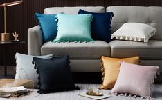 Sofa Couch Bed, Bedroom Sofa, Garden Cushions, Leather Pillow, Western Homes, Elegant Homes, Velvet Pillows, Throw Pillow Covers, Decorative Throw Pillows