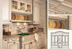 kechan  decoretion   tuscan kitchen design