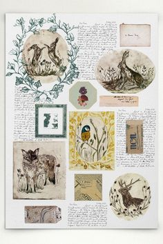 Miss Anne Kirk // English countryside print and historical narrative | Rosemary Milner