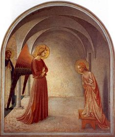 Another Annunciation, Fra Angelico