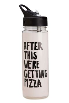 Ban.do Work It Out Water Bottle in After This We're Getting Pizza