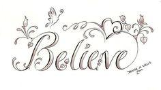 ¸¸.•*¨*•*´¨) ¸.•´¸.•*´¨) ¸.•*¨) (¸.•´ (¸.•` ¤ Believe!