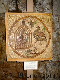 Beautiful mosaic from the Jordan Folklore Museum in Amman, setting of Maggie Madison's escape in Book 1 of the Parched series of international suspense,  When Camels Fly (www.amazon.com/...). The series continues with the new release of The Brothers' Keepers (www.amazon.com/...).