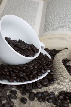 coffee and book (by Creative Commercial Photography)